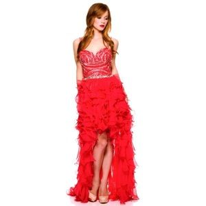 Dresses & Skirts - SALE Sexy red sequin gown prom dress